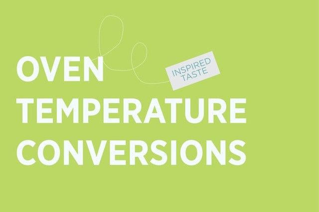 Oven Temperature Conversion  Oven And Food