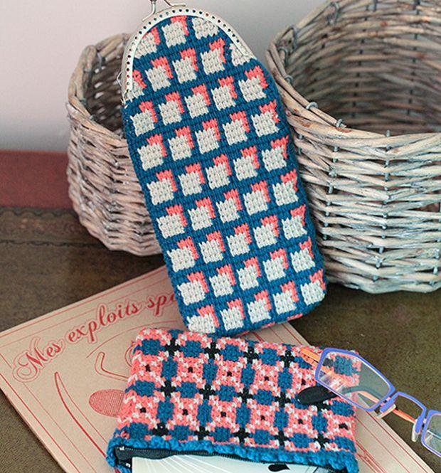 Tunesisches Häkeln Jacquard Tunisian Crochet Pinterest