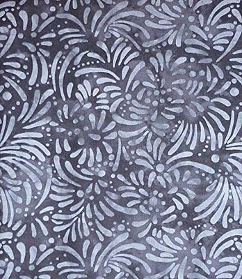 Petals~Black~ by South Sea Imports~ Cotton Fabric for Sewing and Quilting