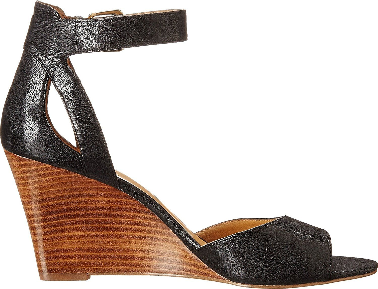 3ed4cc0fc5b Nine West 7Floyd Women Black Wedge Sandal     Check out this great product.