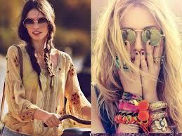 Resultado de imagem para moda hippie