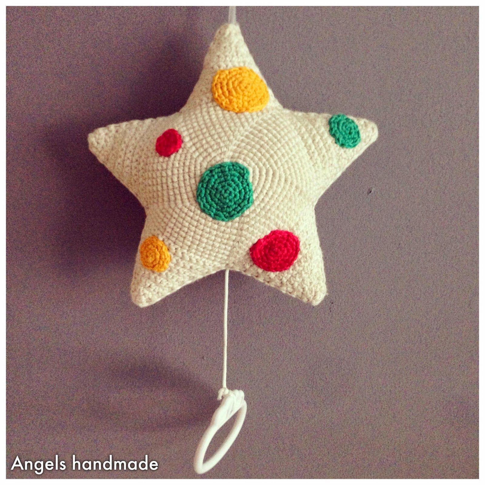 Gehaakte Muziekster Gratis Patroon Crochet Musicstar Free Pattern