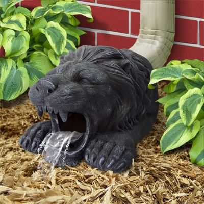 Gutter Buddies are beautifully hand painted and sculpted from resin. Simply place in front of your downspout to add some flare around your gardens or home.