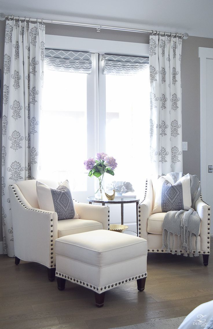 Gray curtains bedroom  tips for a spring refresh in the master suite  spring bedrooms