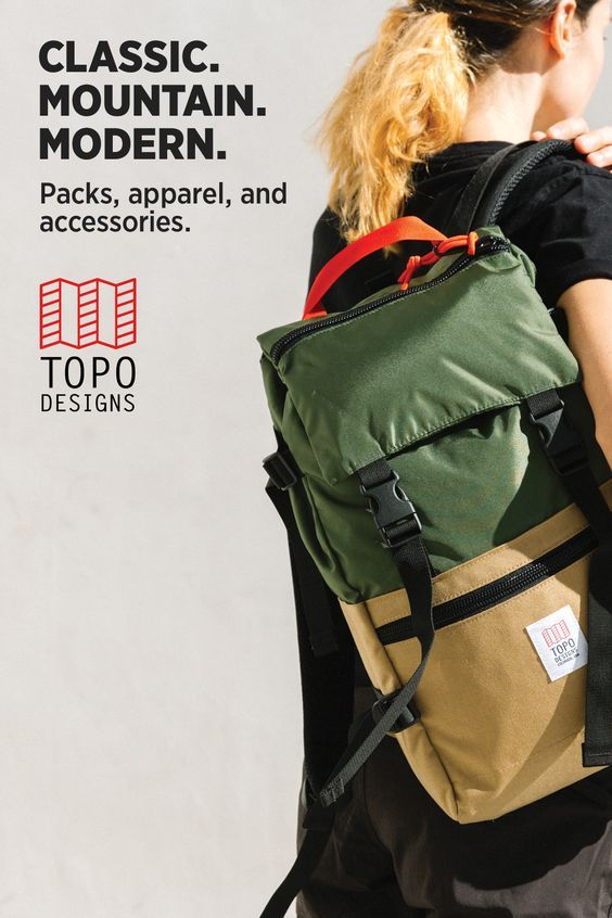Packs, apparel & accessories made for anywhere on your map