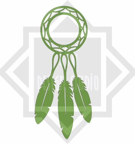 Dream catcher with space for monogram, $1.29 CAD