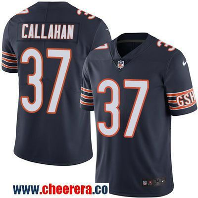 Men's Chicago Bears #37 Bryce Callahan Navy Blue 2016 Color Rush Stitched NFL Nike Limited Jersey