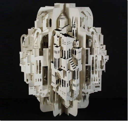intricate paper design