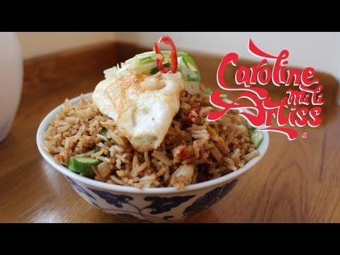 How To Make Nasi Goreng Fried Rice Youtube Fried Rice Malaysian Food Recipes