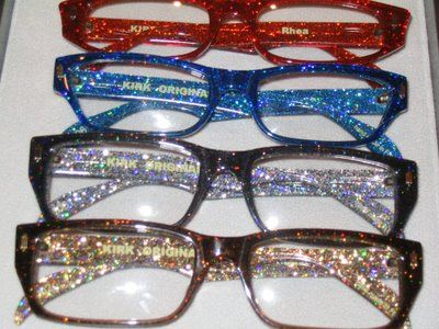 be25e85b7743 Glitter Glasses! They are Kirk Originals and also cost around  400+ ... so  I will keep dreaming of them instead of wearing them.