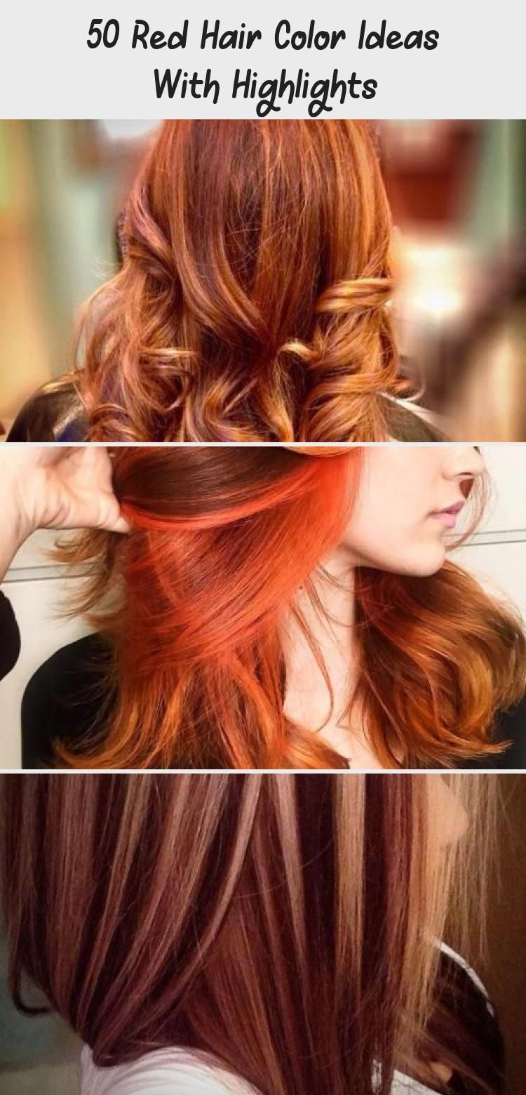 40++ Red hair color with highlights ideas info