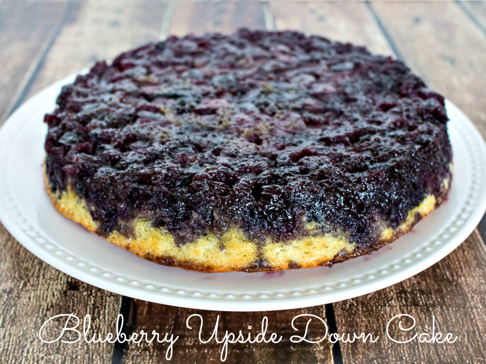 Easy Blackberry Upside Down Cake Recipe