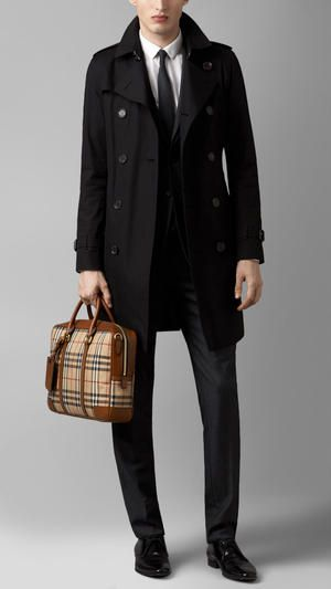 Burberry Horseferry Check Crossbody Briefcase | Men Bags