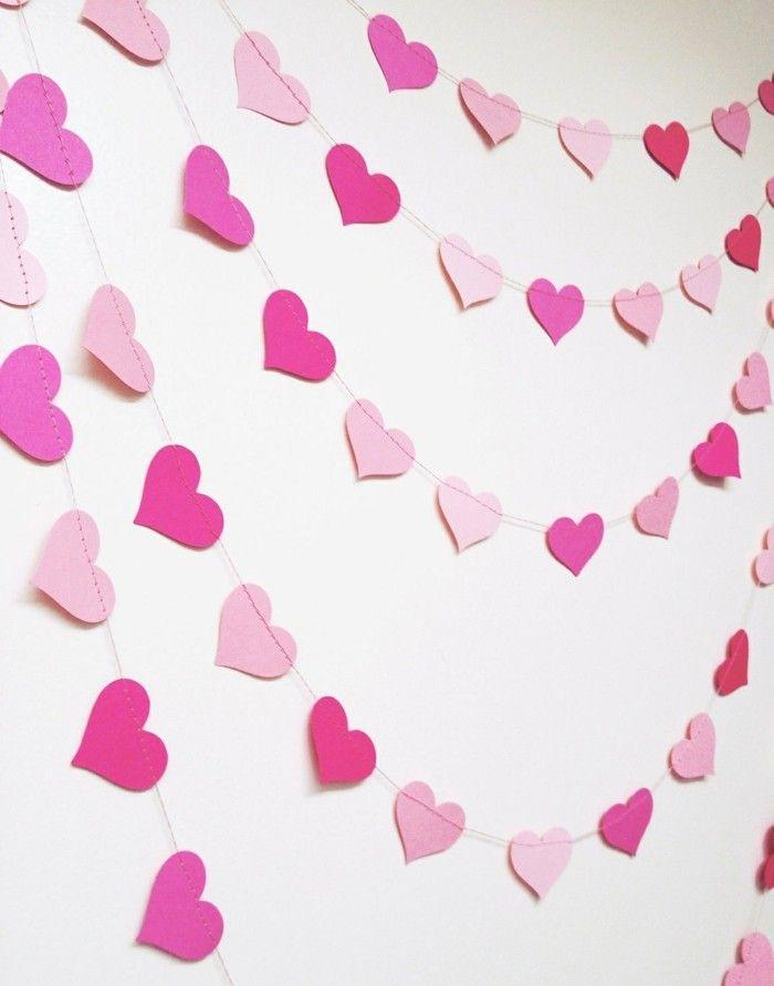 valentinstag diy waddeko girlanden | Valentinstag - Valentine\'s Day ...