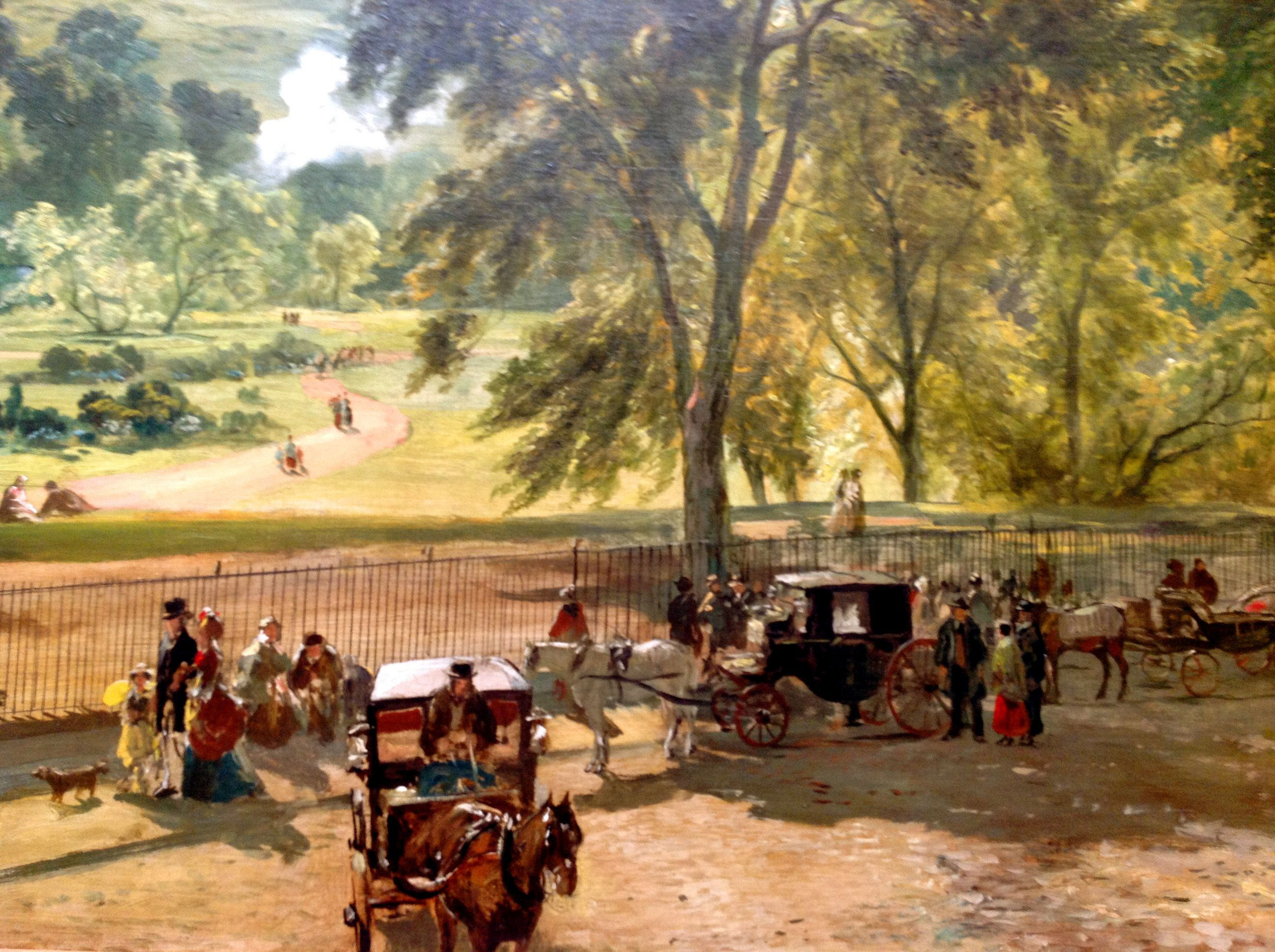 KDS Photo, Scottish National Gallery, detail of oil painting by ...