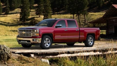 Build Your Own Pickup Truck 2015 Silverado 1500 Chevrolet