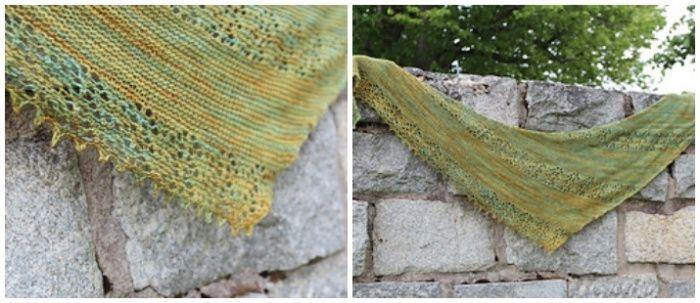 Nurmulintu Easy Knitted Shawl Pattern Shawl Pinterest Shawl