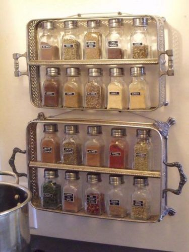20 Spice Rack Ideas for Both Roomy and Cramped Kitchen kitchen
