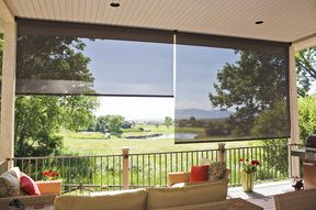 Great Picture Porch Shades, Patio Sun Shades, Tropical Patio, Outdoor Shade, Outdoor  Blinds