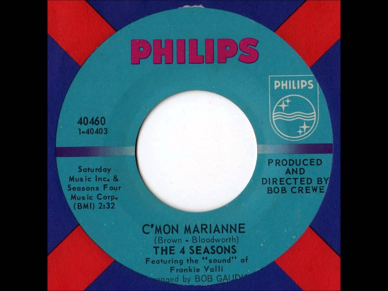 Four Seasons - C'mon Marianne - saw Jersey Boys recently          my