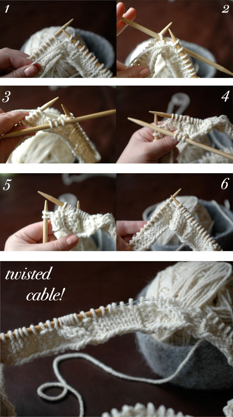 Knitting Tutorials - how to twist cables (spoiler: it's easier than you think!)