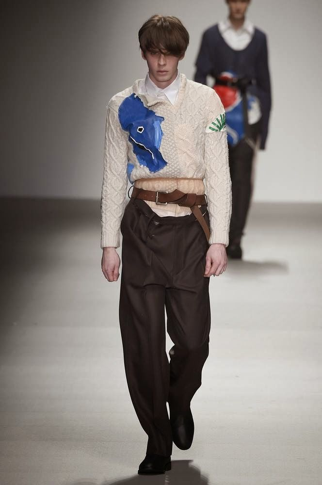 #Menswear #Trends Central Saint Martins Fall Winter 2015 Otoño Invierno #Tendencias #Moda Hombre  M.F.T.