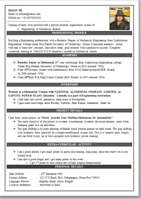 engineering resume templates word download