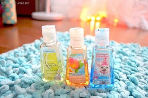 Island Margarita Mango Paradise And Party Animal Hand Sanitizers
