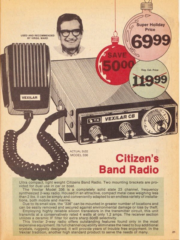 Citizen S Band The Internet Of The 1970s Citizens Band Radio