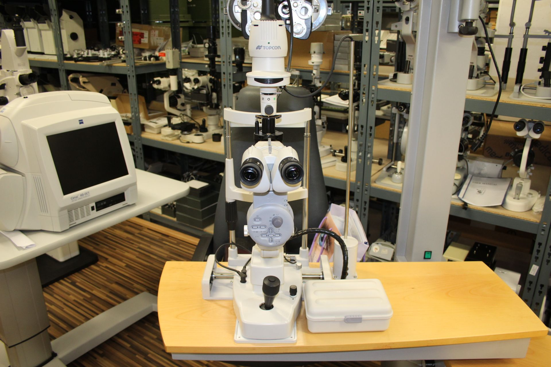 For Sale Slitlamp Topcon Sl D7 7 500 Ophthalmic Equipment Refurbishing Sale