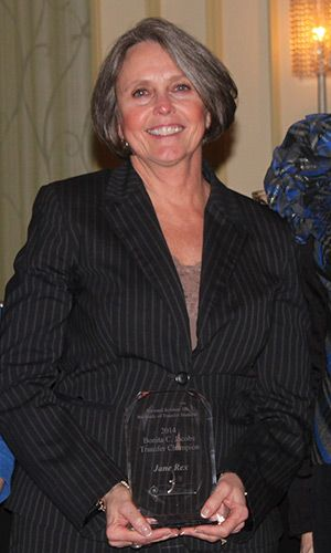 Check out this article about one of our Bonita C Jacobs Transfer Champion Award winners!