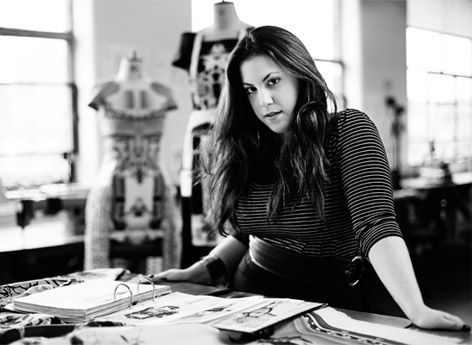 Mary Katrantzou was born in Athens in 1983, to an interior designer mother and a father who worked in textile design. Having developed an appreciation of applied design from an early age, she moved to America to study for a BA in Architecture at the Rhode Island school of design, before transferring to Central Saint Martins to complete her BA degree in textile design. Graduating from her BA in 2005, Katrantzou shifted her direction from textile design to womenswear with a focus on print.