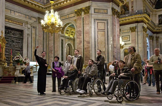 Liberty LtdAccessible Russia Offers Accessible Shore Excursions - St petersburg tours for cruise ship passengers