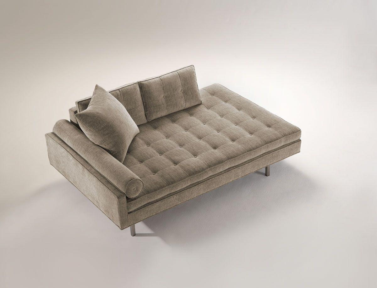 Double Meridienne Ideale Pour Regarder La Tv Recamiere Kissen Sofa Lounge