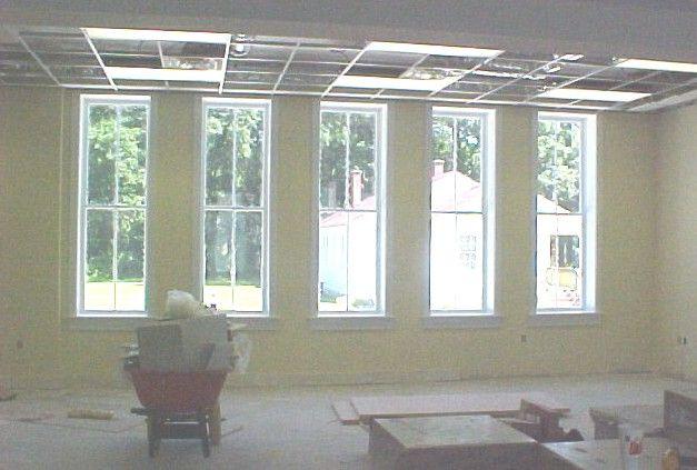 Family room windows home decor pinterest for Tall narrow windows