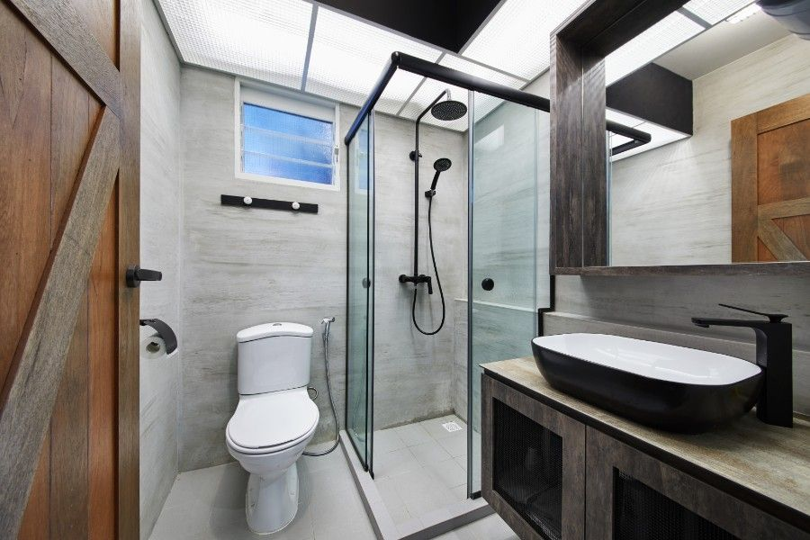 Bto Edgedale Plain 5 Room The Local Inn Terior Interior Design Firm Singapore Toilet Design Interior Design Firms Interior Design Singapore
