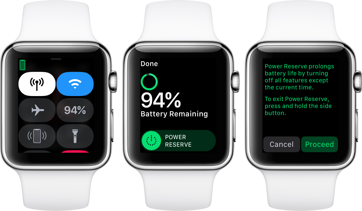 Apple Watch How to enable Power Reserve mode Apple