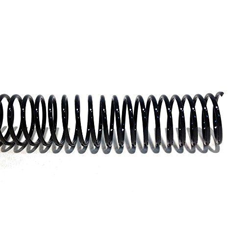 """18mm (11/16"""") Black Coil Bindings (Qty 100) Lamination"""