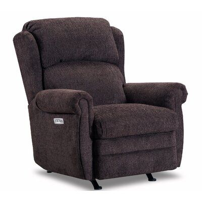 Red Barrel Studio Shavon Recliner Upholstery Colour Chocolate Reclining Type Power Motion Type Rocker Recliner In 2020 Swivel Recliner Recliner Lane Furniture