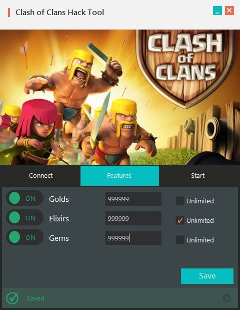 free coins and gems for clash of clans