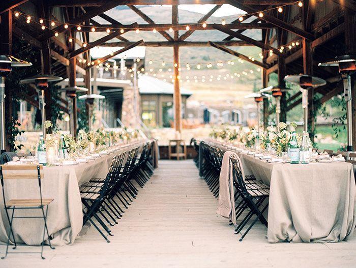 Simple Organic Wedding in Utah | Wedding venues utah, Barn ...