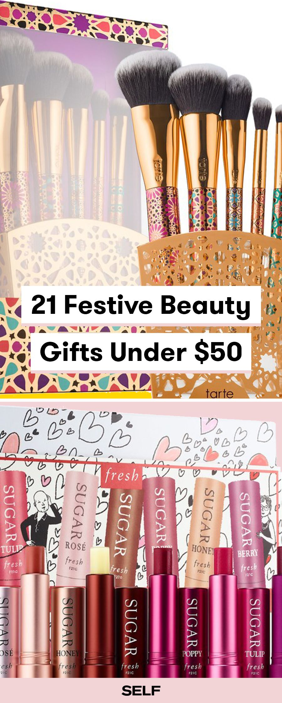 20 Festive Beauty Gifts Ideas Under 50 Beauty products