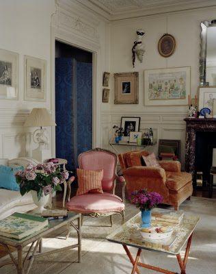hamish bowles paris living room