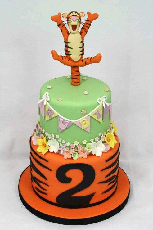 Tigger cake backen pinterest - Winnie pooh kuchen deko ...
