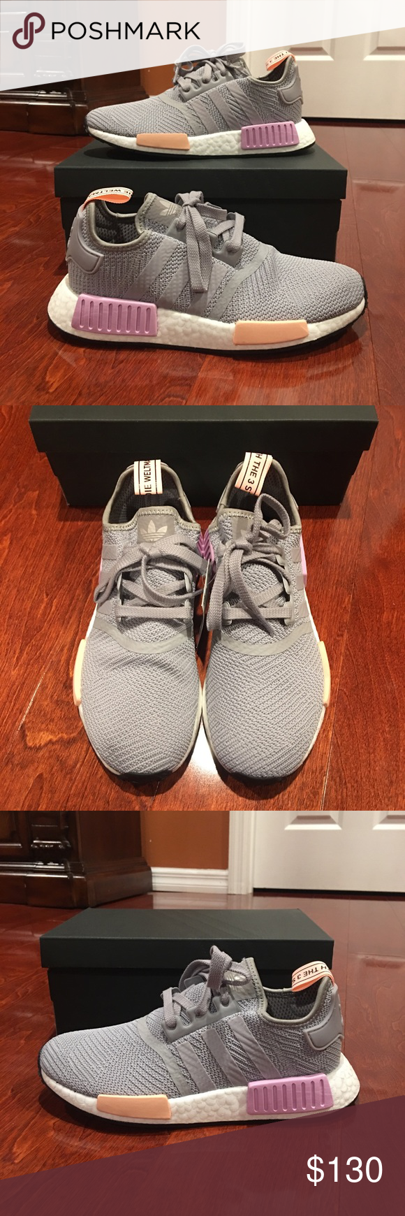 95f40a16df4bc NIB Women s Adidas NMD R1 Light Granite Shoes  NO TRADES. PRICE AS LISTED  FOR