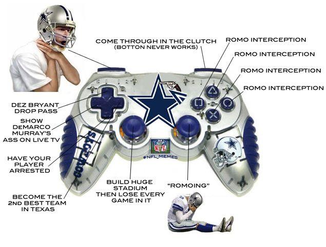 New And Improved Dallas Cowboys Xbox Controller Romo Tony