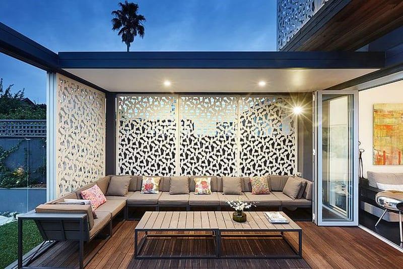 تصاميم و أفكار ديكورات حدائق خارجية في السطح او الملاحق العلوية الروف In 2020 Rooftop Terrace Design Terrace Design Outdoor Rooms