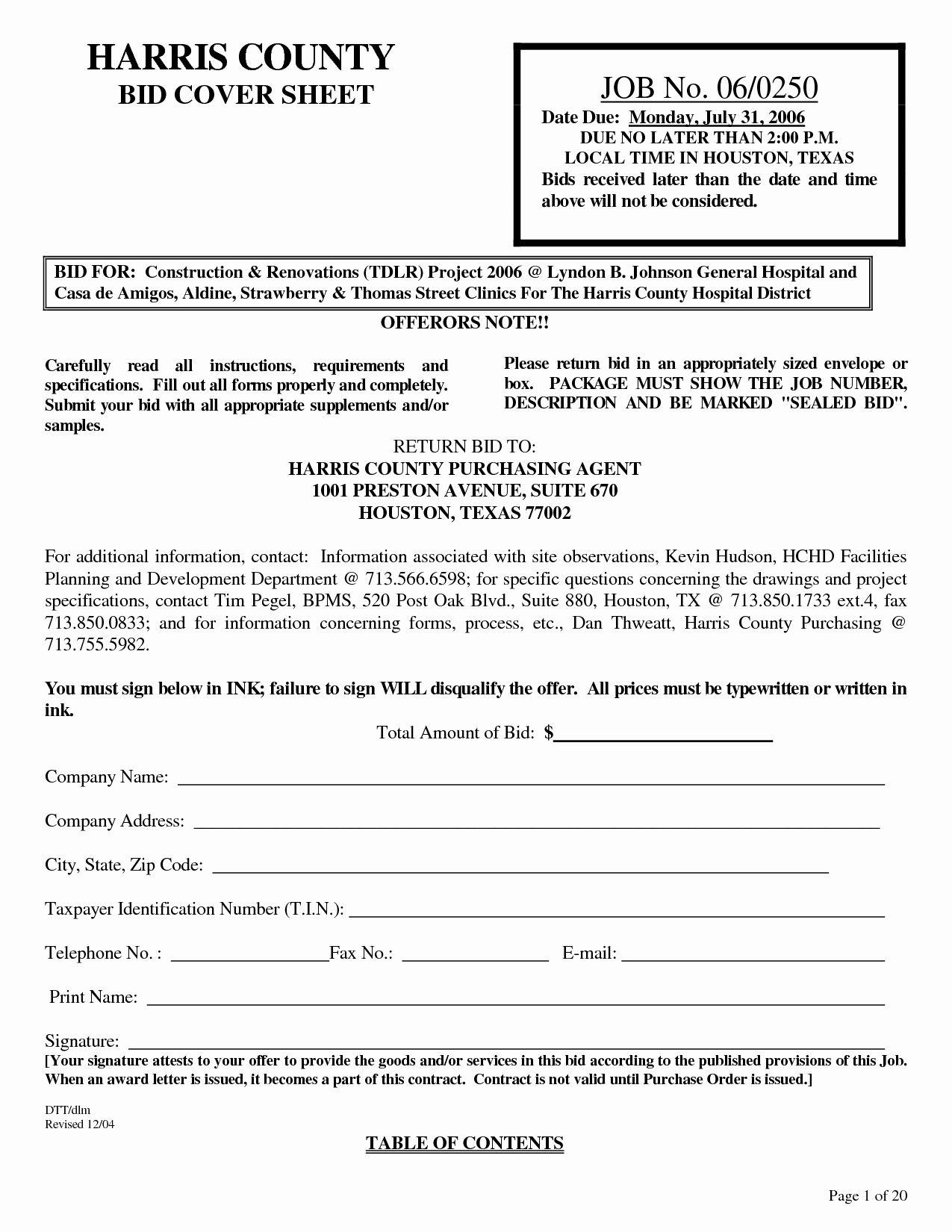 Invitation To Bid Letter Sample