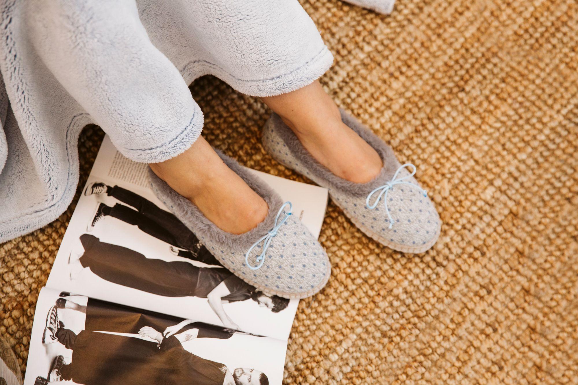 Zapatillas de casa invierno 1819 Don algodon #zapatillas