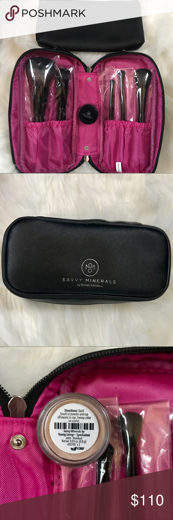 Luxury Savvy Minerals makeup brushes & makeup How to